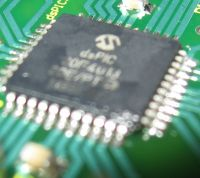 dsPIC  GSM board www.electronics-base.com