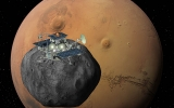 Russian Mars probe phones home